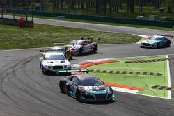 #1 Belgian Audi Club Team WRT, Audi R8 LMS Ultra: Robin Frijns, Laurens Vanthoor, Jean-Karl Vernay