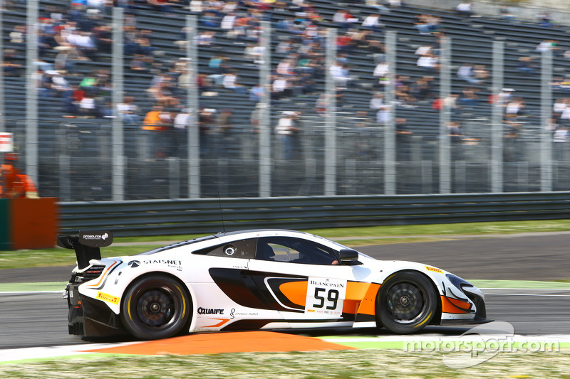 #59 Von Ryan Racing,迈凯伦650S GT3: Bruno Senna, Alvaro Parente, Adrian Quaife-Hobbs