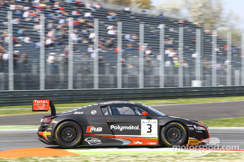 #3 Belgian Audi Club Team WRT Audi R8 LMS ultra: Stéphane Richelmi, Kelvin van der Linde, Christopher Mies