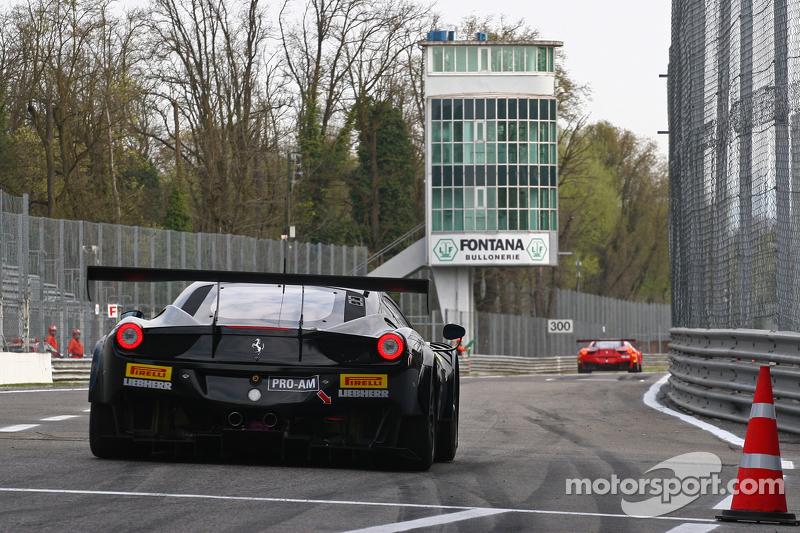#66 Black Pearl Racing by Rinaldi Ferrari 458 Italia: Steve Parrow, Pierre Kaffer