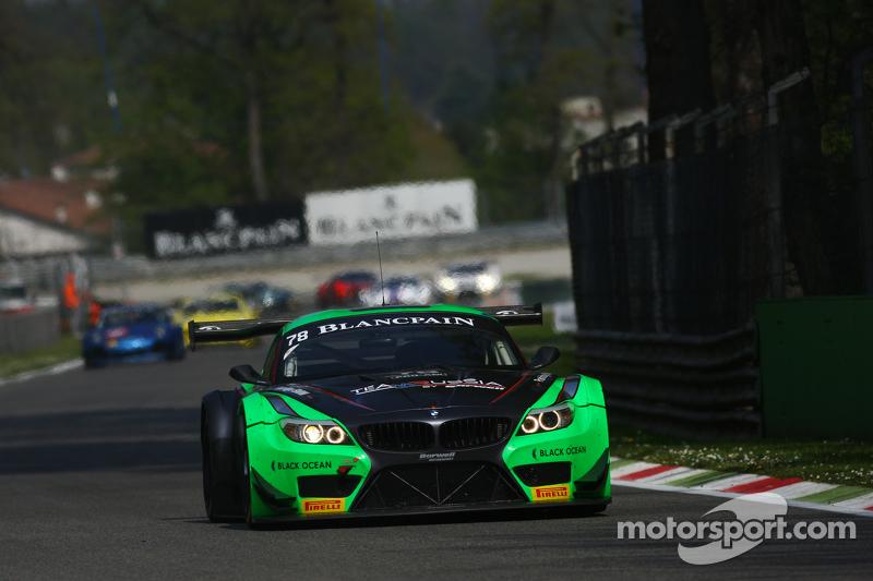 #78 Team Russia BMW Z4: Leonid Matchitski, Timur Sardarov, Jonathan Cocker