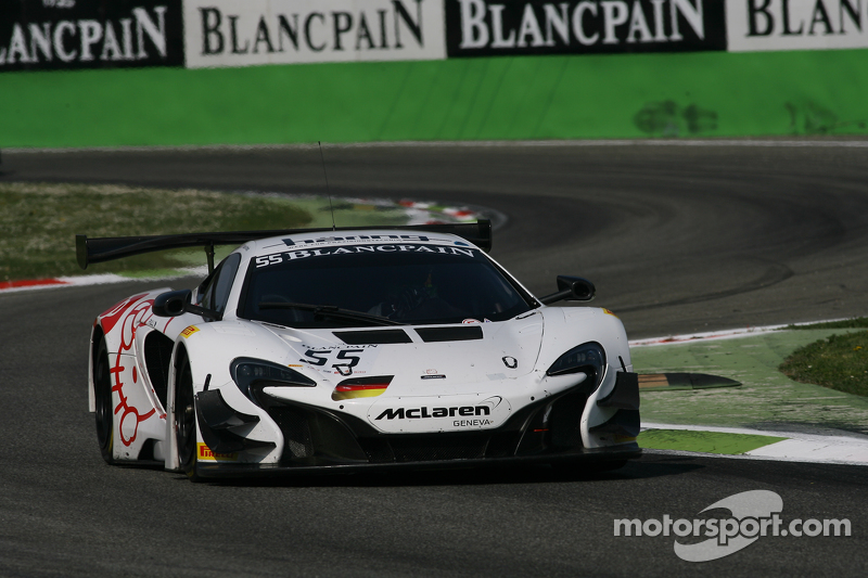 #55 Attempto Racing,迈凯伦 650 S GT3: Miguel Ramos, Fabien Thuner, Nicolas Armindo