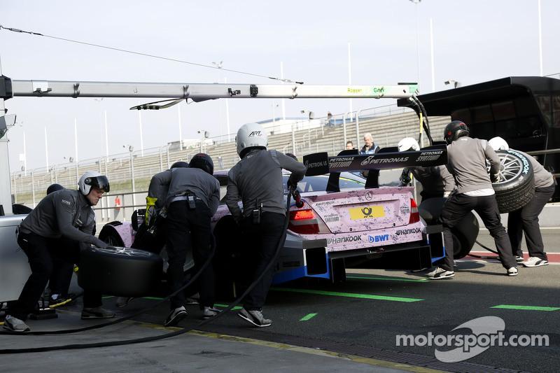 Boxenstopp für Gary Paffett, ART Grand Prix, Mercedes-AMG C63 DTM