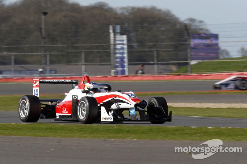 Matt Rao, Fortec Motorsports, Dallara F312 Mercedes-Benz