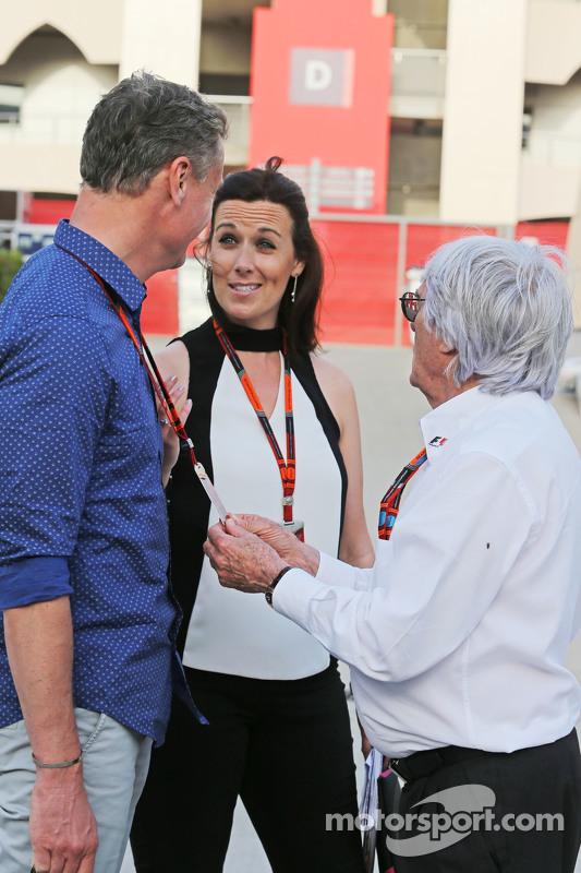 David Coulthard, Red Bull Racing dan Scuderia Toro Advisor / Komentator Televisi BBC dengan Lee McKe