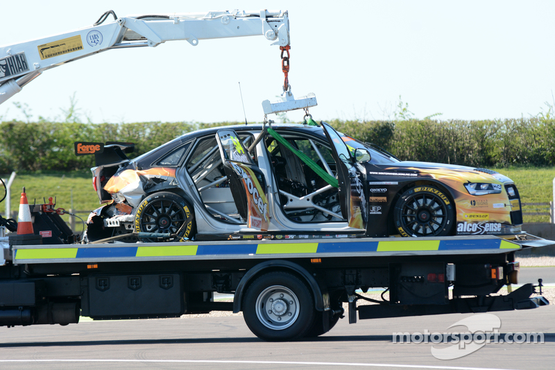 damaged mobil dari Hunter Abbott, Exocet AlcoSense