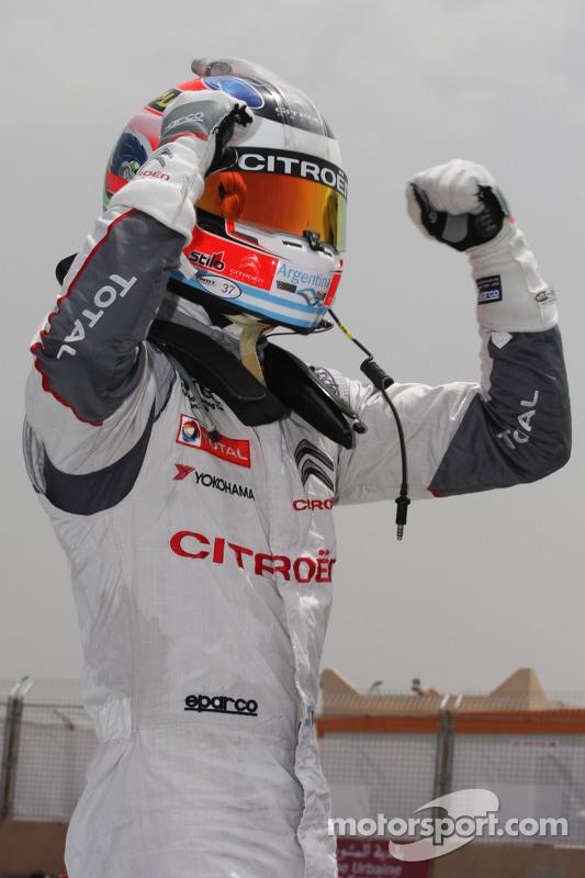 Polesitter Jose Maria Lopez, Citroën C-Elysée WTCC, Citroën World Touring Car Team WTCC