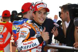Pole-Sitter: Marc Marquez, Repsol Honda Team