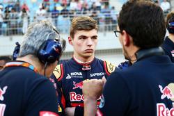 Макс Ферстаппен, Scuderia Toro Rosso на стартовой решетке
