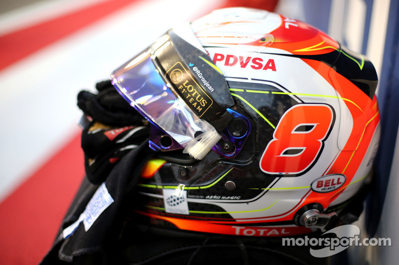 Helm Romain Grosjean, Lotus F1 Team