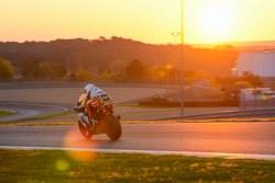 La course au lever du soleil
