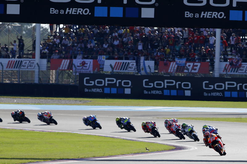 Marc Marquez, Repsol Honda Team, in Führung