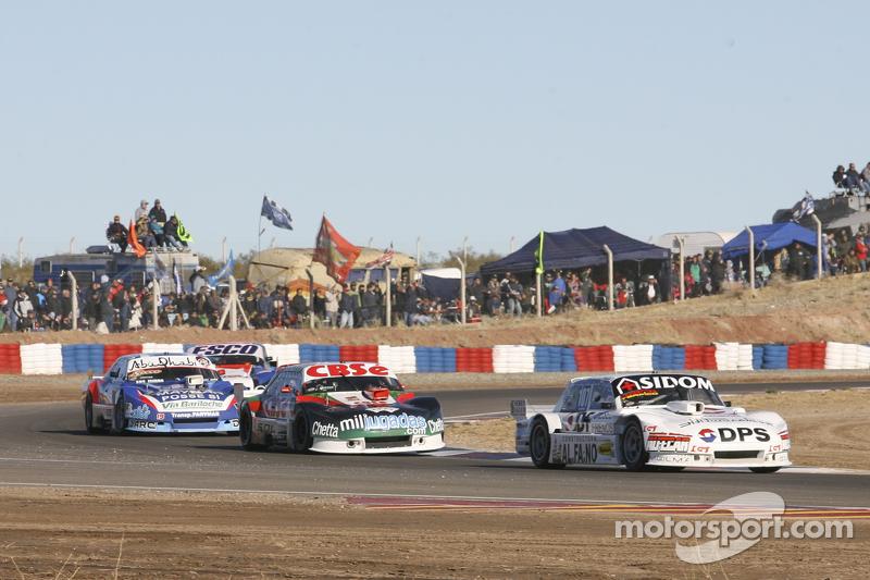 Leonel Sotro, Alifraco Sport, Ford; Carlos Okulovich, Maquin Parts Racing, Torino; Matias Rodriguez, UR Racing, Dodge, und Jose Savino, Savino Sport, Ford