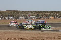 Omar Martinez, Martinez Competicion, Ford; Mauro Giallombardo, Maquin Parts Racing, Ford, und Juan P