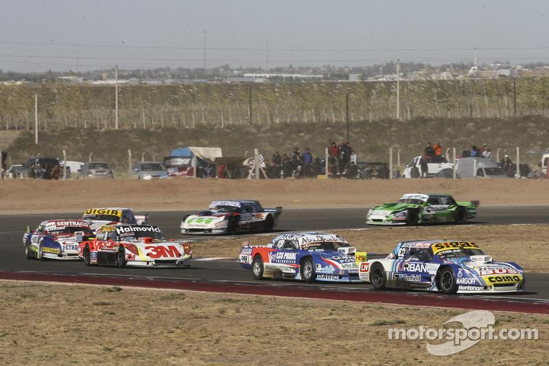 Mauricio Lambiris, Coiro Dole Racing, Torino; Matias Rodriguez, UR Racing, Dodge; Mariano Werner, We