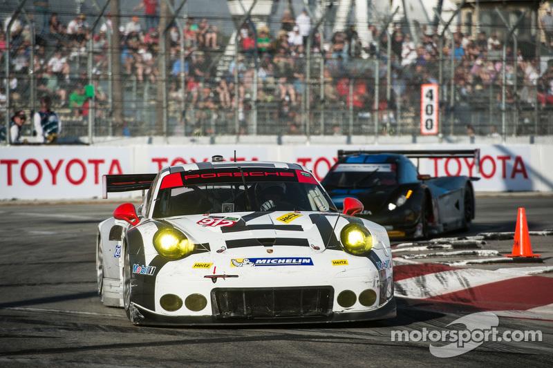#912 保时捷北美,保时捷911 RSR: Jorg Bergmeister, Richard Lietz