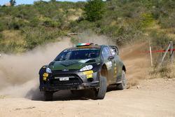 Lorenzo Bertelli et Giovanni Bernacchini, Ford Fiesta RS WRC, Fwrt S.R.L