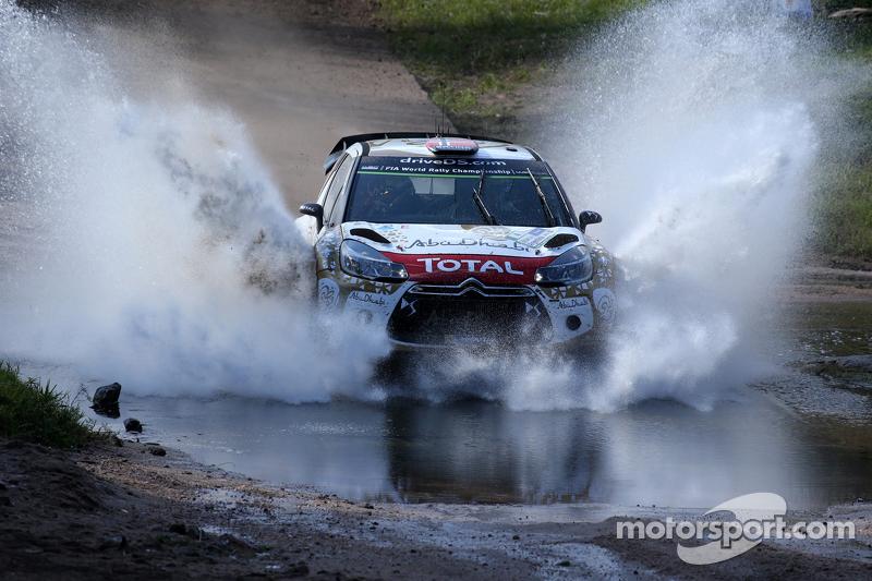 Mads Ostberg dan Jonas Andersson, Citroën Ds3 Wrc, Citroën World Rally Team