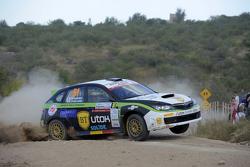 Simone Tempestini та Matteo Chiarcossi, Subaru Impreza, Napoca Rally Academi