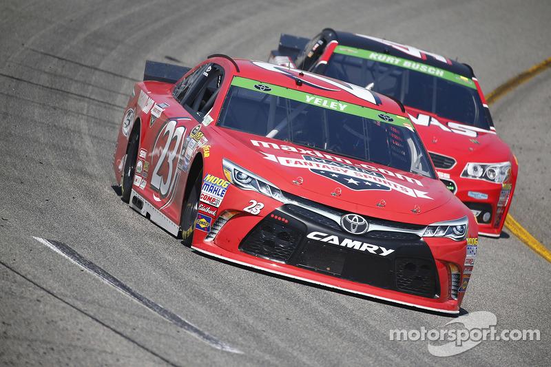 J.J. Yeley, BK Racing Toyota