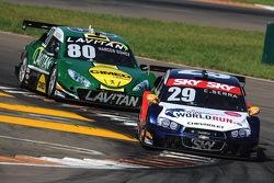 دانييل سيرا، سيارة ريدبُل ريستغ رقم 29 وماركوس غوميس، سيارة فريق فوكس ريسينغ رقم 80