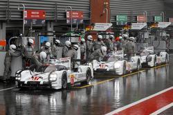 Porsche 919 Hybrid, Тимо Бернхард, Марк Уэббер, Брендон Хартли