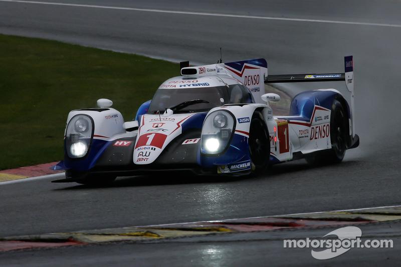 #1 Toyota Racing Toyota TS040-Hybrid Hybrid: Anthony Davidson, Sébastien Buemi, Kazuki Nakajima