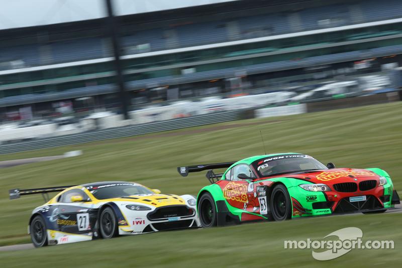 63: Jon Minshaw和Phil Keen, Barwell Racing的俄罗斯车队,宝马Z4 GT3