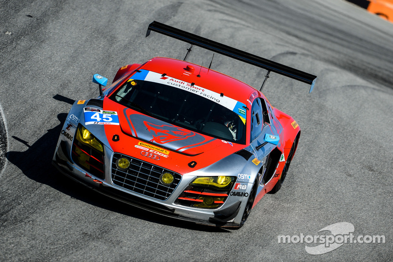 #45 Flying Lizard Motorsports Audi R8 LMS: Маркус Вінкелхок, Robert Thorne