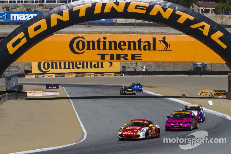 #42 Team Sahlen, Porsche Cayman: Wayne Nonnamaker, Michael Valiante