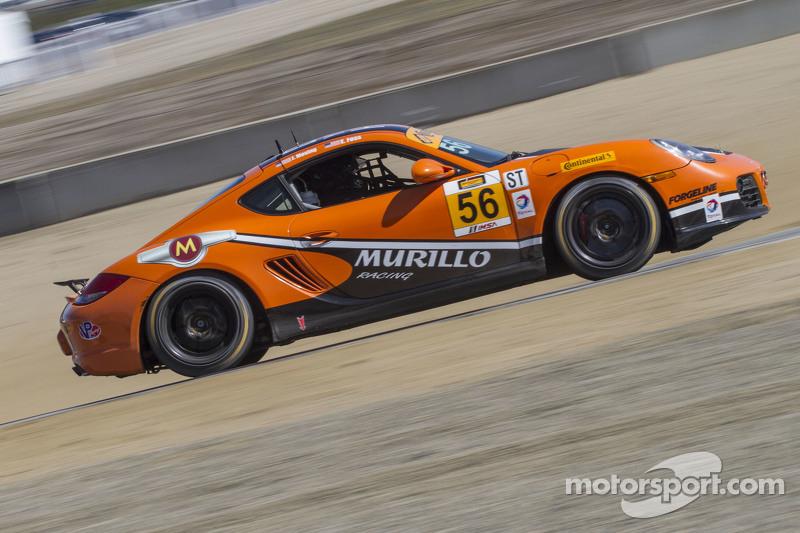 #56 Murillo Racing,保时捷卡曼: Jeff Mosing, Eric Foss