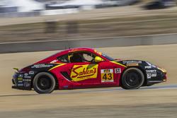 #43 Team Sahlen, Porsche Cayman: Jeff Segal, Wayne Nonnamaker