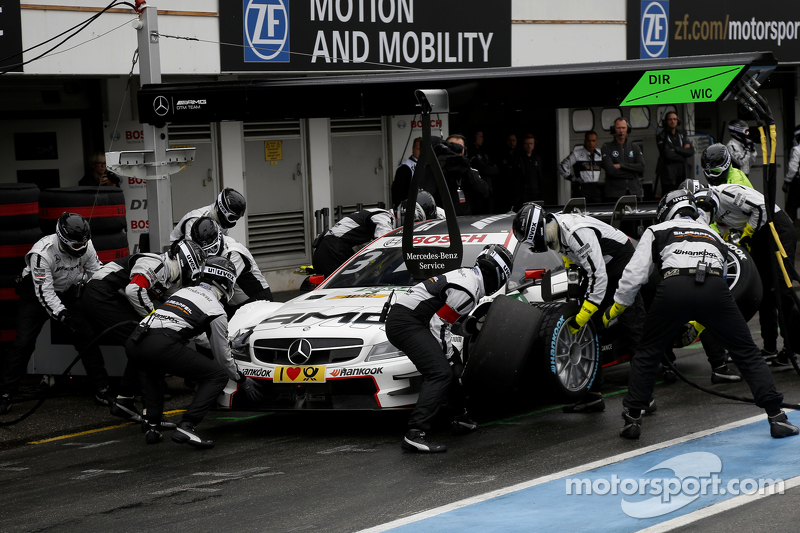 Pitstop, Paul Di Resta, HWA AG Mercedes-AMG C63 DTM