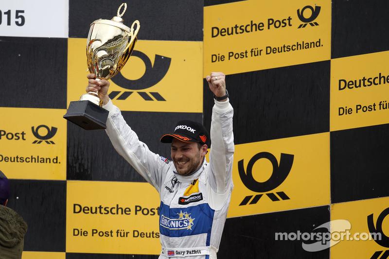Podium: 3. Gary Paffett, ART Grand Prix, Mercedes-AMG C63 DTM