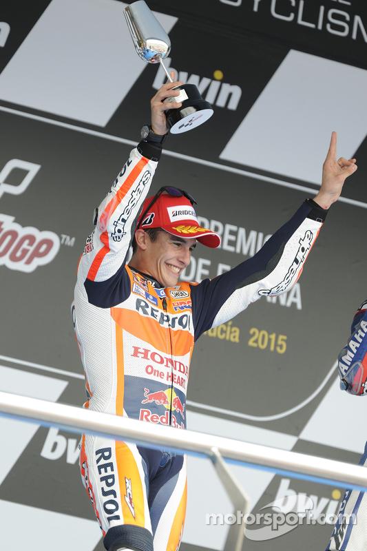 Segundo lugar Marc Marquez, Repsol Honda Team