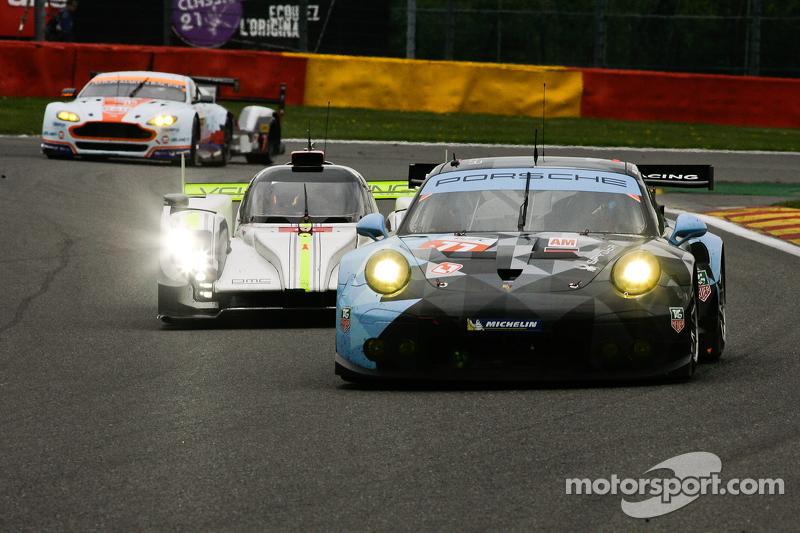 #77 Dempsey Proton Competition,保时捷911 RSR:  Patrick Dempsey, Patrick Long, Marco Seefried