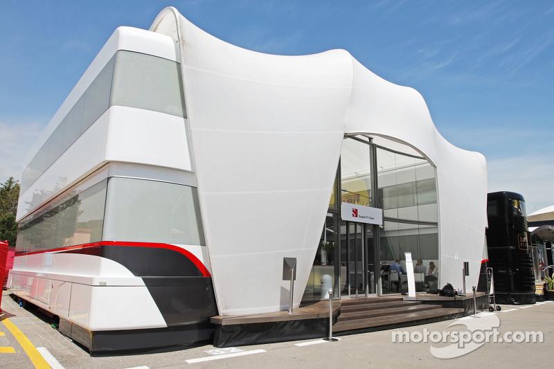 Sauber F1 Team, Motorhome