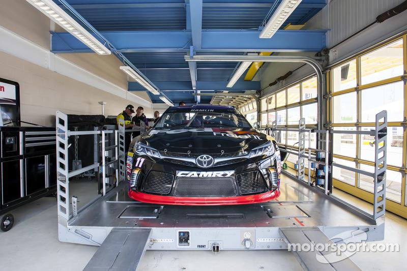 Das Auto von Denny Hamlin, Joe Gibbs Racing, Toyota