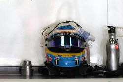 Helm von Fernando Alonso, McLaren-Honda