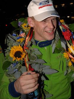 Jorg Bergmeister celebrates