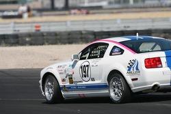#197 Larry Miller Racing Mustang GT: Bill Murray, James Burke slides