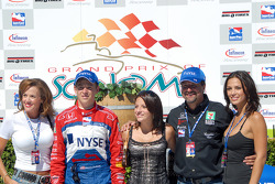 Sandy, Marco, Marissa and Michael Andretti and Jodi Ann Paterson