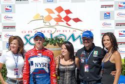 Sandy, Marco, Marissa and Michael Andretti et Jodi Ann Paterson