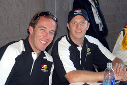 Patrick Huisman and Spencer Pumpelly