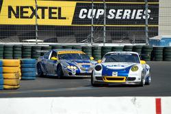 #72 Tafel Racing Porsche GT3 Cup: Wolf Henzler, Robin Liddell, #64 TRG Pontiac GTO.R: Paul Edwards, Kelly Collins