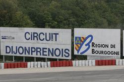Dijon Prenois signage