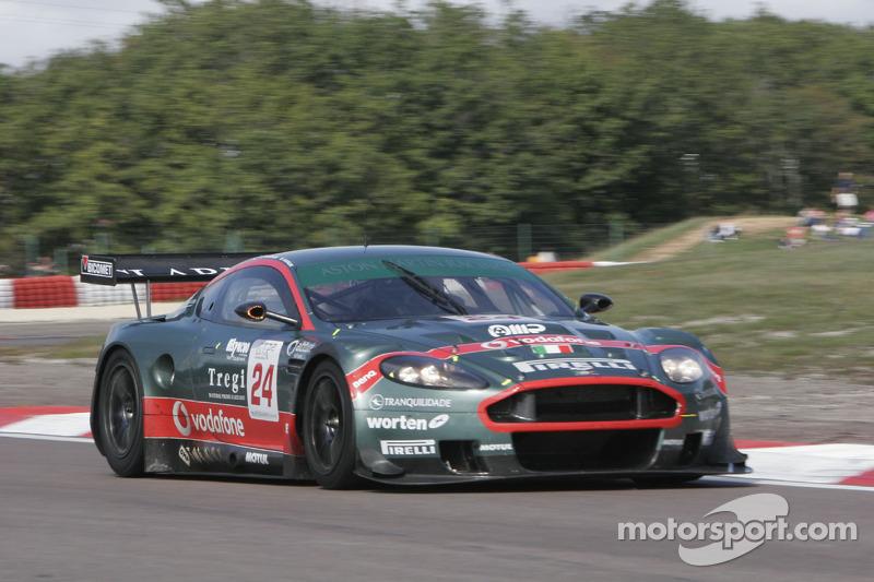 #24 Aston Martin Racing BMS Aston Martin DBR 9: Fabrizio Gollin, Miguel Ramos