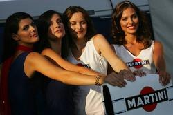 Martini girls photoshoot
