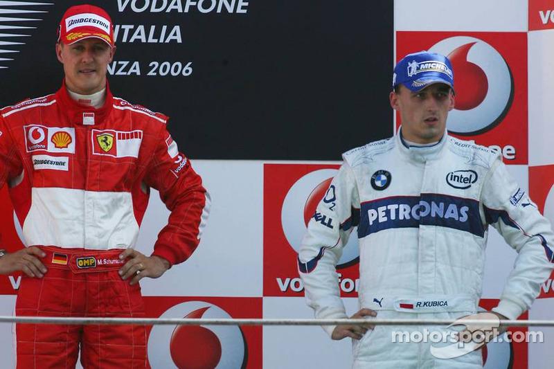 #7: Robert Kubica, GP de Italia 2006