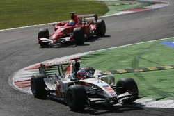 Rubens Barrichello y Felipe Massa